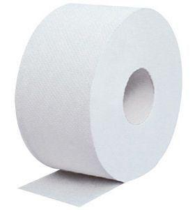 Papel Higiênico White Paper - Rolão (300 metros com 8 rolos)