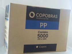 Copo Descartável Branco 50 ml - copobras (Com 5.000 unidades)