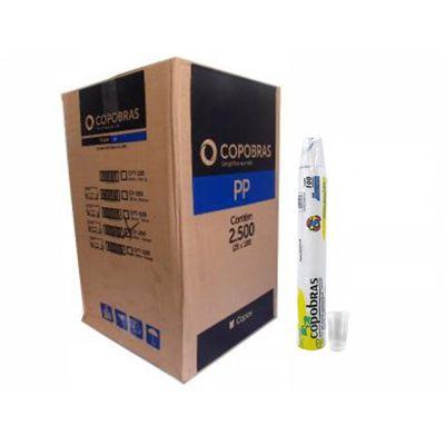 Copo Descartável Branco 180 ml - copobras (Com 2.500 unidades)