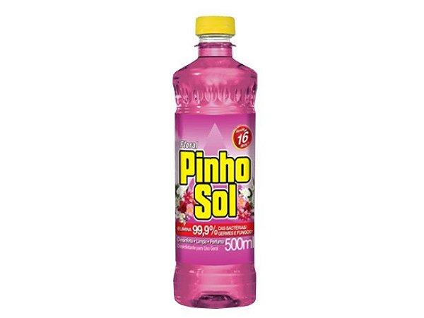 Pinho Sol - 500 ml (Floral, Lavanda, Limão, Mar Tropical e Original)