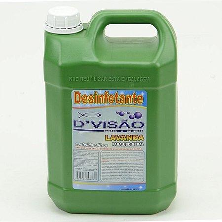 Desinfetante Divisão Galão - 5 Litros (Palmolux, Giovana Baby, Lavanda, Dov e Talco)