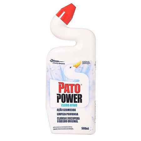 Pato Power - 500 ml (Cloro Ativo e Destruidor de Manchas)