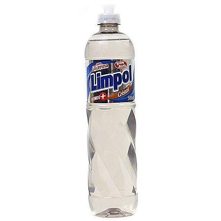 Limpol - Detergente - 500 ml (Cristal e Neutro)