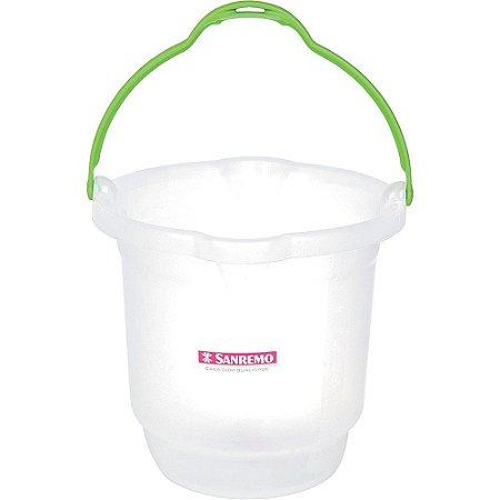 Balde Plástico - Hydrus - Sanremo (Capacidade: 8,5 Litros e 15 Litros)