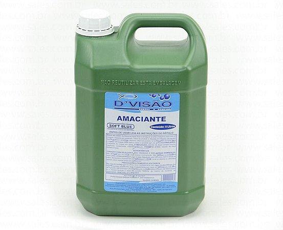Amaciante - Divisão Azul (Embalagem: 2 Litros e 5 Litros)