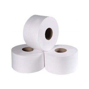Papel Higiênico White Paper - Luxo  - Rolão (Contém 8 rolos de 300 mts x 10 cm)