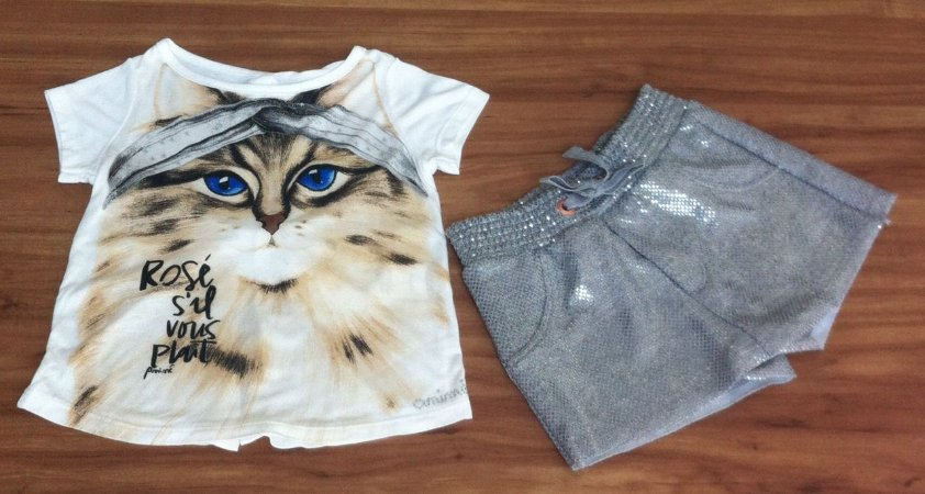 CONJUNTO SHORTS ANIMÊ