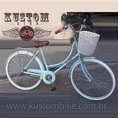 Bicicleta Dutch Feminina Retrô - VintageModelo Antiga