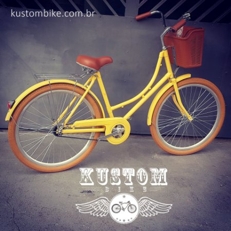 Bicicleta Retrô Vintage - Estilo Caloi Ceci Antiga