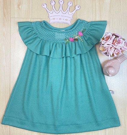Vestido Infantil Menina Princess - Kiki Xodó
