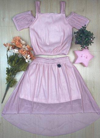 Conjunto Infantil Menina Pérolas - Kiki Xodó