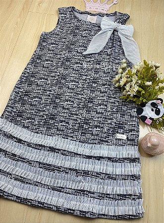 Vestido Infantil Menina de Laço - Kiki Xodó