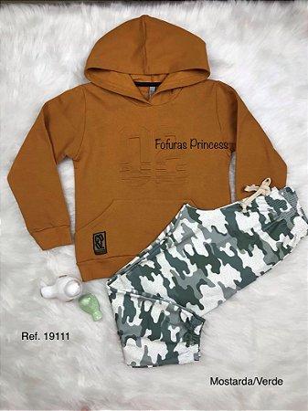 Conjunto Infantil Menino, Blusa e Calça peluciada - AleKids