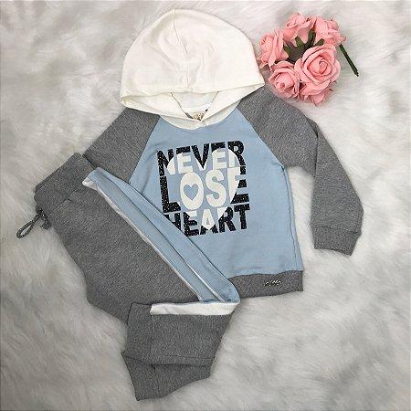 Conjunto Infantil Inverno Menina Coração - Kukiê