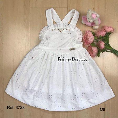 Vestido Infantil Laise Campo - Kiki Xodó