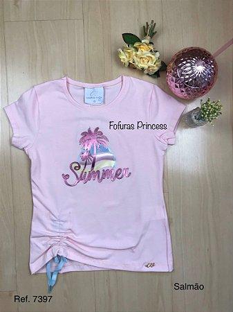 Blusa Infantil Summer - Menina Anjo