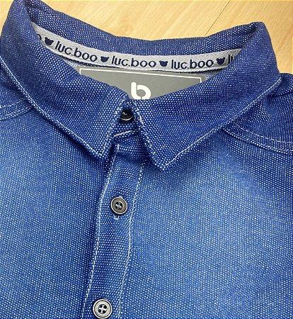 Camisa Infantil Menino Jeans - Luc.Boo