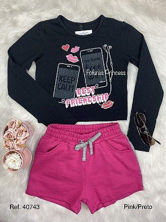 Conjunto Infantil Menina Best Pink - Lilimoon
