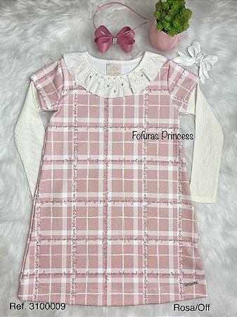Vestido Infantil Menina Strass - Kiki Xodó