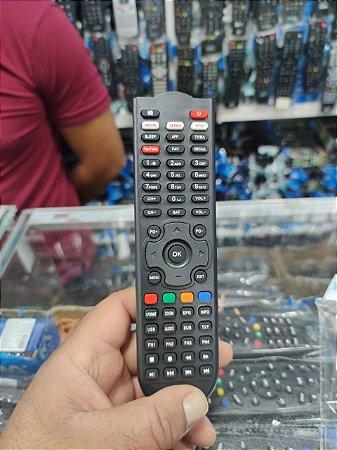 Controle remoto Eurosat Slim e Pro