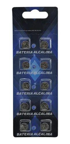 BATERIA CARTELA C/10 MODELO AG7