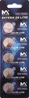 BATERIA CARTELA MODELO CR2025