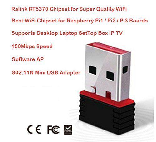 Adaptador WIFI Ralink RT 5370 para 99% dos receptores