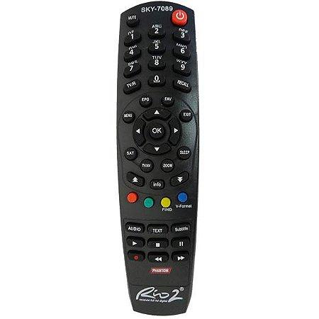Controle remoto Phantom Rio 1 / Rio 2 / Rio TV