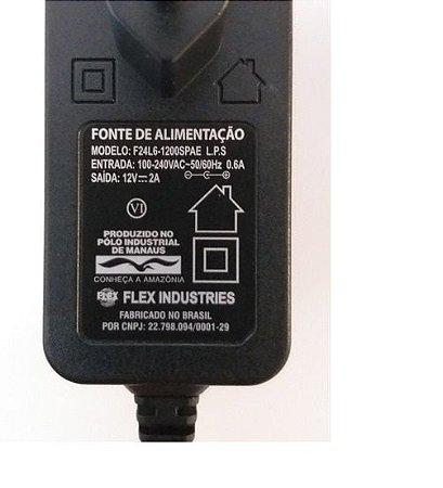 Fonte de alimentação 12 volts 2 Ampére