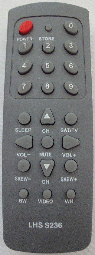 Controle Receptor Century Super Color 236 Le S236