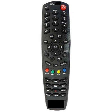 Controle Remoto Receptor Phantom Ultra HDTV