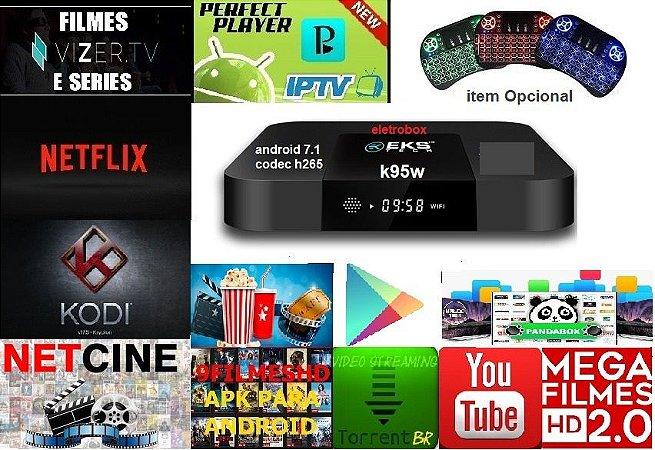 CONVERSOR SMART K95W 4k 1GB  Ram 8GB Rom S905W Quad-core