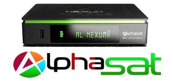 ALPHASAT NEXUM RECOVERY VIA USB E BUSCA DE CANAIS CONFIRAM 5b917f8e07