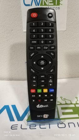 Controle Remoto Duosat Troy S