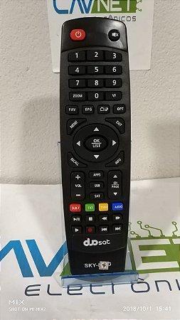 Controle Remoto Duosat Next UHD / Next FX