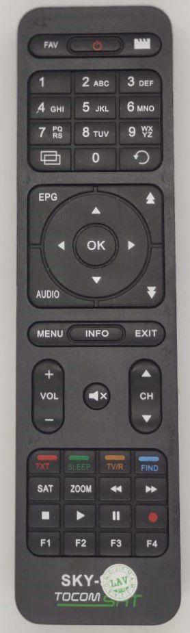 Controle remoto Tocom Turbo S