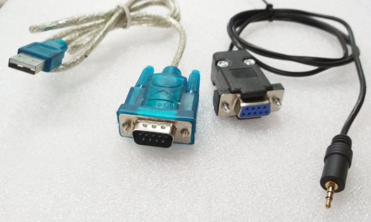 Kit recovery USB x RS232 + P2 DB9