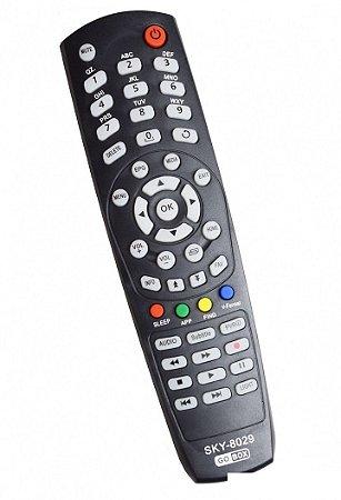 Controle remoto Tocomsat Inet 4k