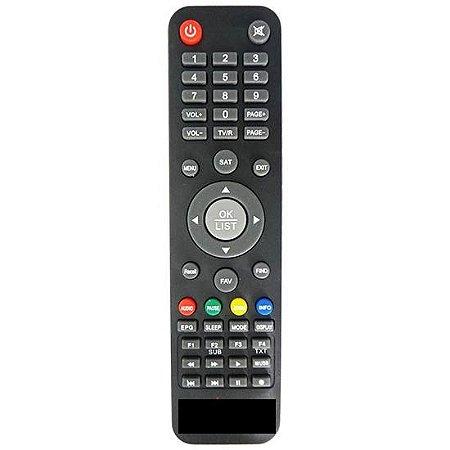 Controle Remoto Compativel com Receptor Maxfly Iflex HD