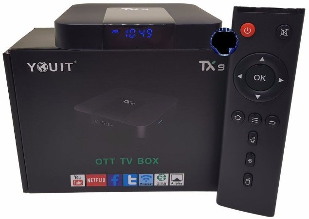 Smart Tv Box Tanix Tx9 - Kit com 4 peças