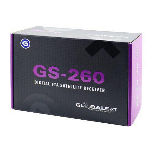 Globalsat GS260 ACM Lançamento 2019