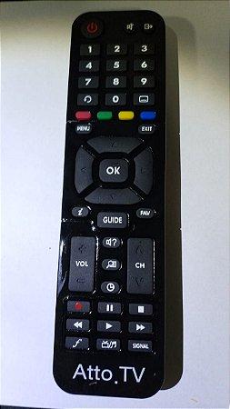 Controle remoto Atto TV