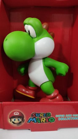 Boneco Yosih -grande Super Mario Collection Figure 25 Cm