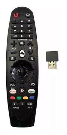 Controle Universal Para Smart Tv Magic Lelong Le-7700