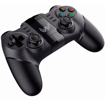 Controle Joystick Bluetooth AT-9156 Pc, TV Box, Cel