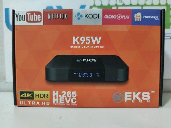 CONVERSOR SMART K95W 4k 2 GB  Ram 16 GB Rom S905W Quad-core
