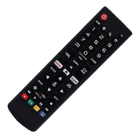 Controle Remoto Tv Lg Smart Netflix Le-7045 - Sky-8035