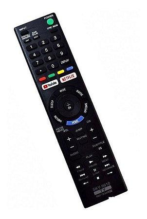 Controle TV Sony Smart C/ YouTube/ NetfliX