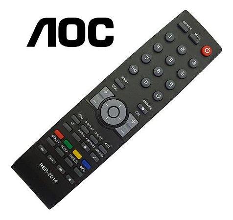 Controle Remoto Tv Lcd / Led Aoc Cr4603 / D26w931