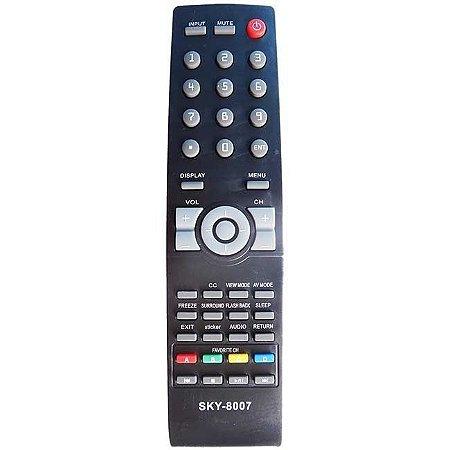 Controle Remoto P/tv Sharp Led Lc42sv32b
